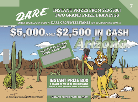 D.A.R.E. Sweepstakes Round 7 - Arizona